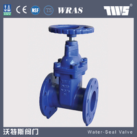 cast steel rising stem Gate valve