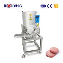 automatic burger patty forming machine chicken nugget production line CXJ100