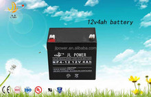 High quality Sealed Type and Toy's car Usage deep cycle rechargeable battery 12v 4ah solar battery