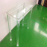 Acrylic laptop computer table desks