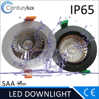 6 inch waterproof LED shower light 25W warm white 3000K