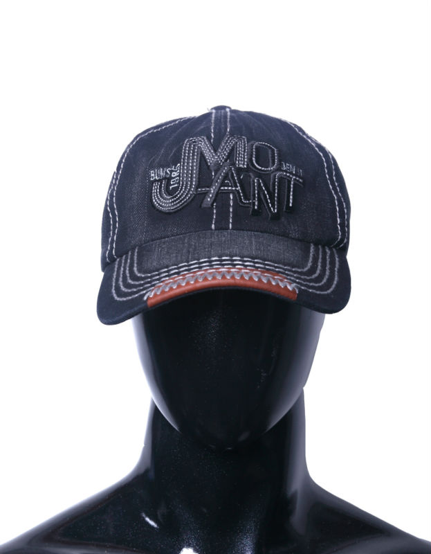 Factory direct sale low price individuality thick denim peaked cap for outdoor