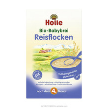 Holle organic baby food rice flakes 250g