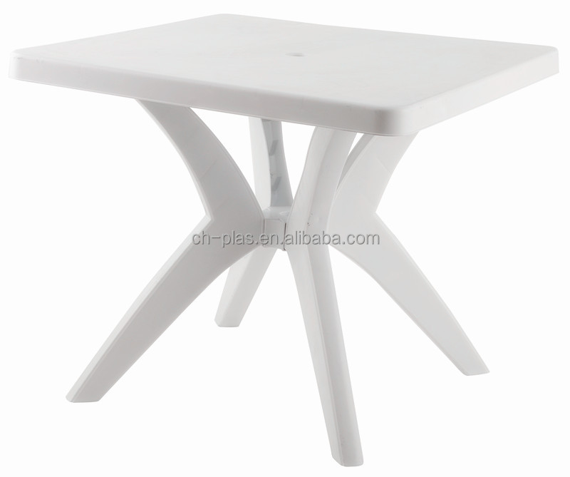 PP white cheap small plastic tables