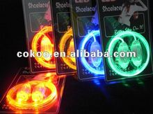 Alibaba Express Escrow 2012 Hot sell Magic LED Shoelace