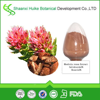 Natural Rhodiola Rosea Extract 3% Salidroside Powder