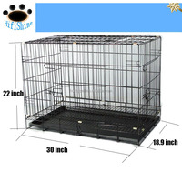 Large toy Wire meatl fiberglass dog cage