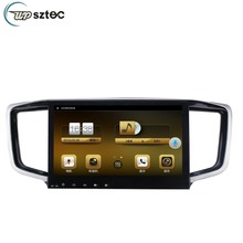 "10.1"" Quad Core Full Touch Screen Android Car GPS  Multimedia System Radio Player For Honda Odyssey 2015"