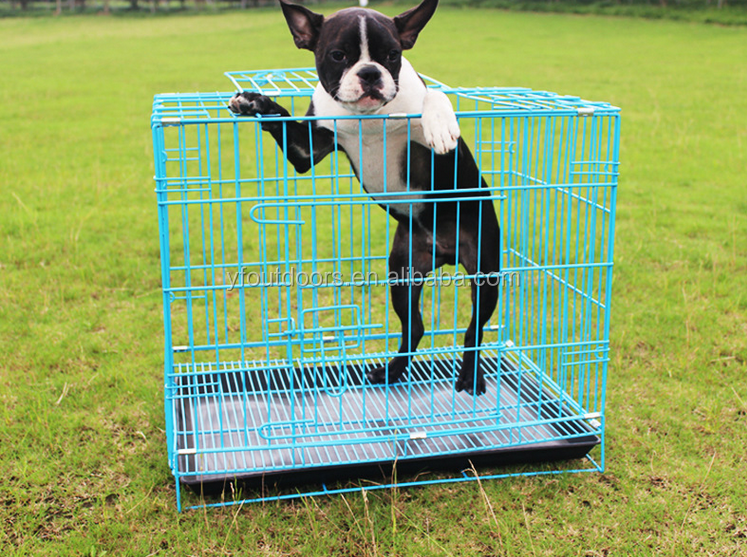 New style metal dog cage carriers