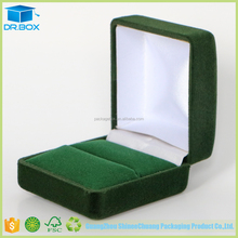 Hot selling velvet box/velvet gift box for antique style ring box