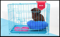Large Folding Wire Pet Cage For Dog Cat House Metal Dog Crate