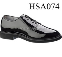 top quality up market genuine leather no folds government officer formal military men shoes