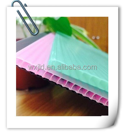 Clear corrugated plastic roofing sheets/board with ISO,SGS certificate