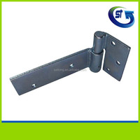 GI Heavy duty wooden gate metal strap hinge for pipes