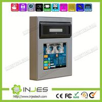 Rotation Angle Design Touch Screen WIFI Large Capacity Biometrics Iris Recognition Mine attendance solution