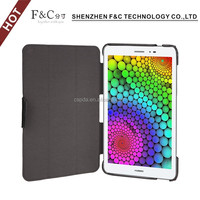 2016 Best selling Back stand PU case for Huawei T1 super thin tablet cover for Huawei TI with stand funvtion