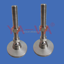 Factory Stamping adjustable swiveling feet leveling feet for furniture and equipment