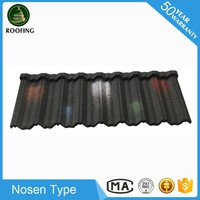 New design Nosen factory direct roofing shingles prices,steel roof tile made in China
