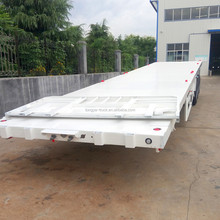 Shandong Liangshan Tongya- the direct supplier hot-selling tri-axle flatbed trailer