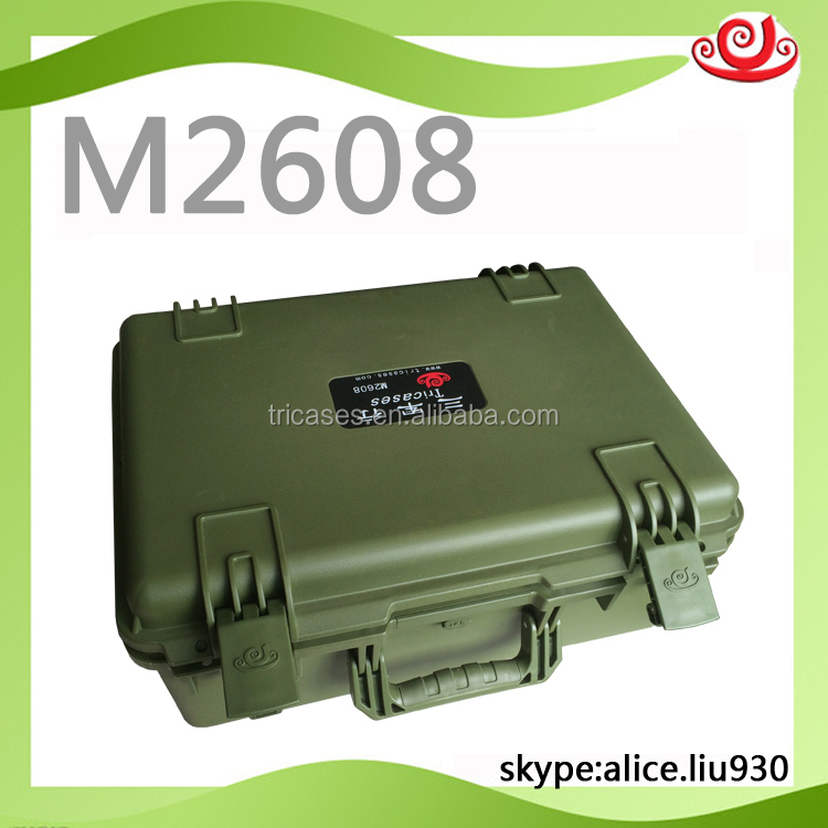 M2608 Shockproof Seal hardshell waterproof Plastic case