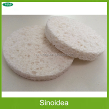 Hotsales white color Natural Facial Cleaning Cellulose Sponge
