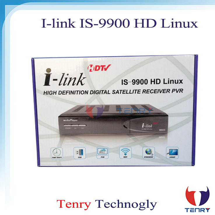 Ilink is 9900 hd media palyer with linux turbo 8psk dvb-s2 ilink 9900 hd set top box