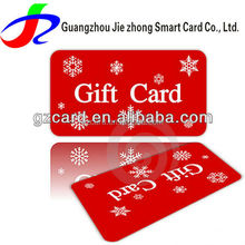 Free Design Free Sample Plastic Loyalty card/ PVC Gift VIP card/ Plastic Membership card