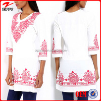 2016 Wholesale Indian Tunics Women Tunics Tops Indian Clothing Wholesale
