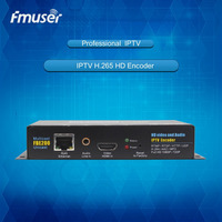 FMUSER H.264 High Definition HD IPTV Streaming Encoder -FBE200-H.264-LAN