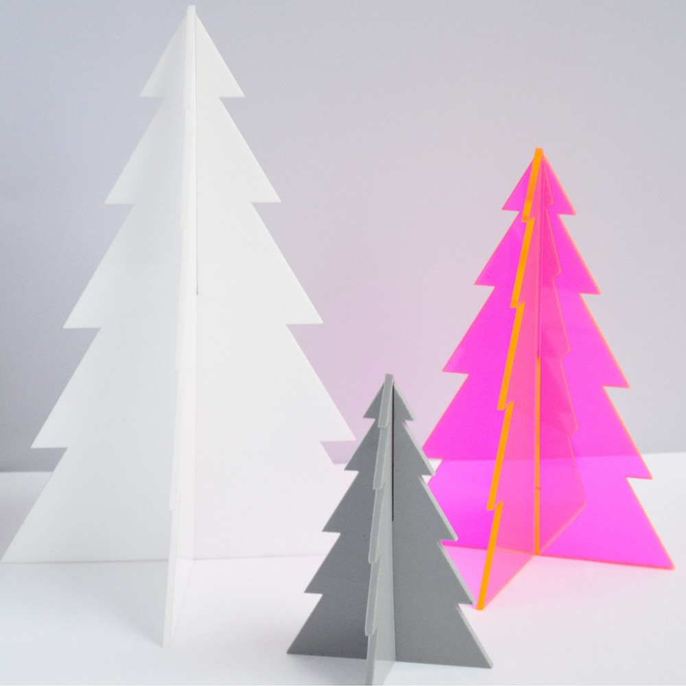 Acrylic Christmas Tree, Laser Cut Acrylic Christmas Tree Decoration