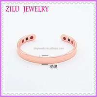 2016 Fashion Jewelry Plain Design Copper