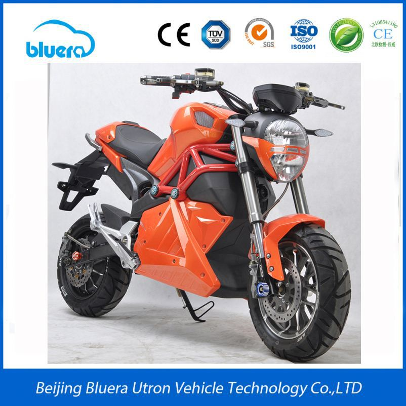 Hight Quality Kawasaki 1000W Electric Battery Powered Motorcycle