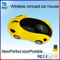 Promotional classic mini car shaped wireless computer mouse with CE certification