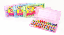 DUCKEY New product stationery crayon 12 assorted colors oil pastel