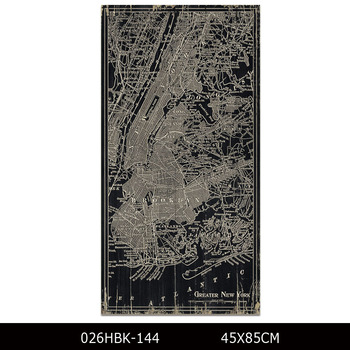 Chicago Map Canvas.Factory Support Modern Prints America Maps Oil Painting On Canvas