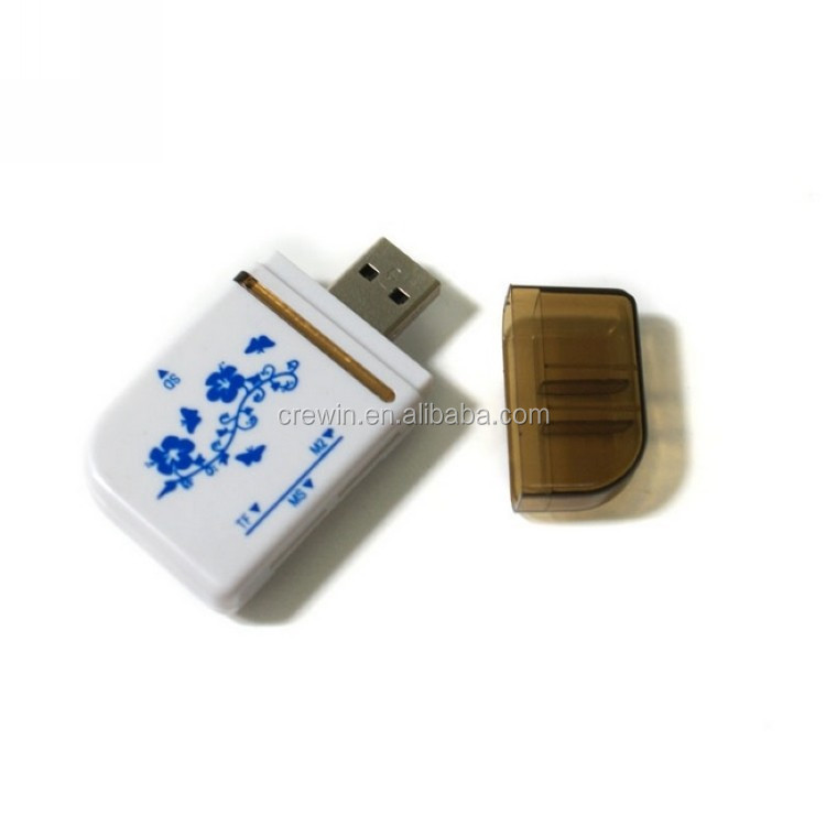 USB2.0 All in 1 Multi Memory Card Reader for Micro memory SD/TF/SD/MS/M2