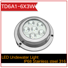 Marine Accessories 18w led marine light,led underwater light for boat/marine/yatch IP68 Waterproof