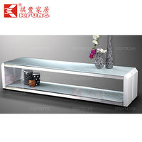 high quality white wooden furniture lcd tv stand