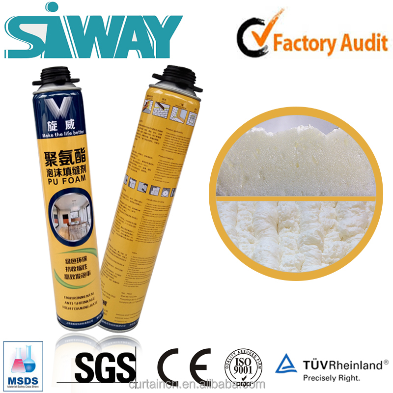 Waterproof Expanding Polyurethane Foam Product Spray Foam