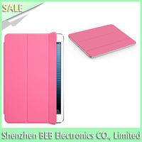 UK's hot selling smart cover case for ipad mini with cheap FOB price