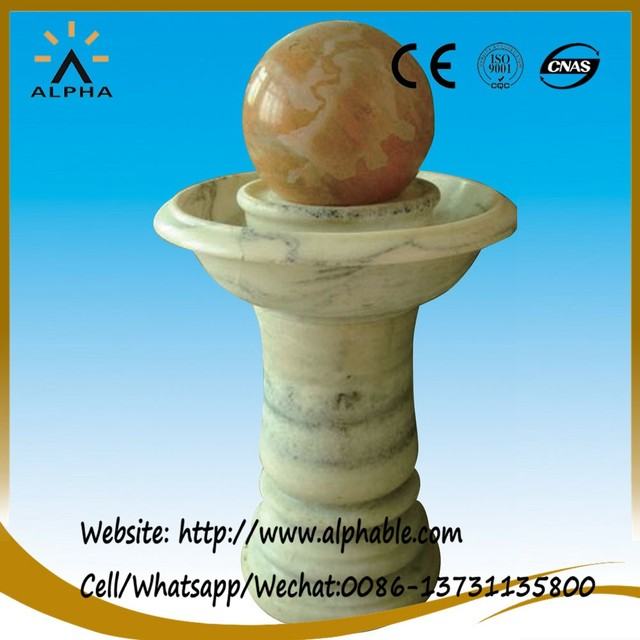 Classic Hand Carved Marble Ball Water Fountain