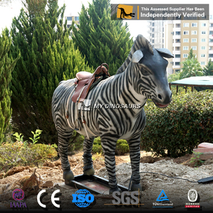 MY DINO-Q035 Horse Type Ride On Toy Style Removable Animatronic Animal Rides