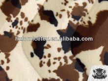 W 100%polyester fake tiger fur moroccan upholstery fabric