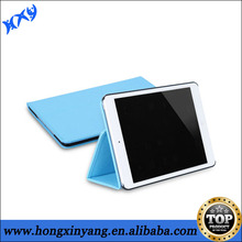 2014 hot selling stand book pu leather case cover for ipad air.