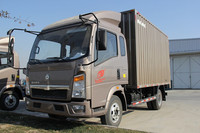 SINOTRUK HOWO VAN TRUCK 4*2 WITH EXCELLENT QUALITY
