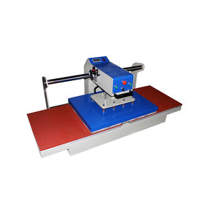 automatic pneumatic t shirt heat transfer printing machine