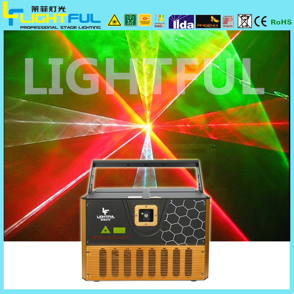 high power 5w rgb full color disco laser lighting equipment 5 watt rgb laser projector