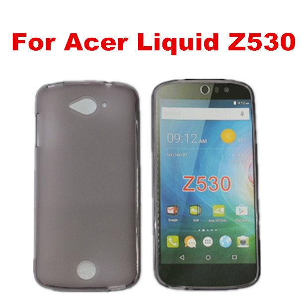 New arrival Transparent clear budding soft TPU case for acer liquid Z530
