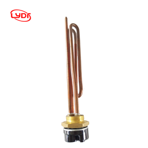 LYDR high quality hot sale factory custom size tubular heater electric heating element,electric heating tube for water heater