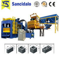Hot selling machine QT10-15 concrete block making paver machine with best price